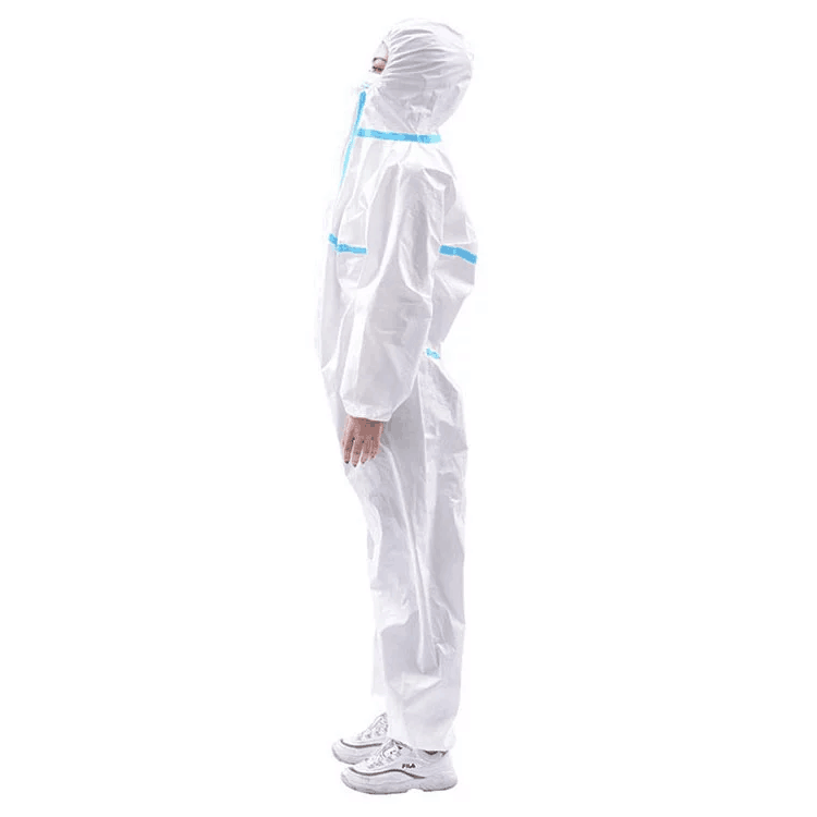 Safety Protection Medical Isolation Suit Disposable Coverall Clothes Featured Image