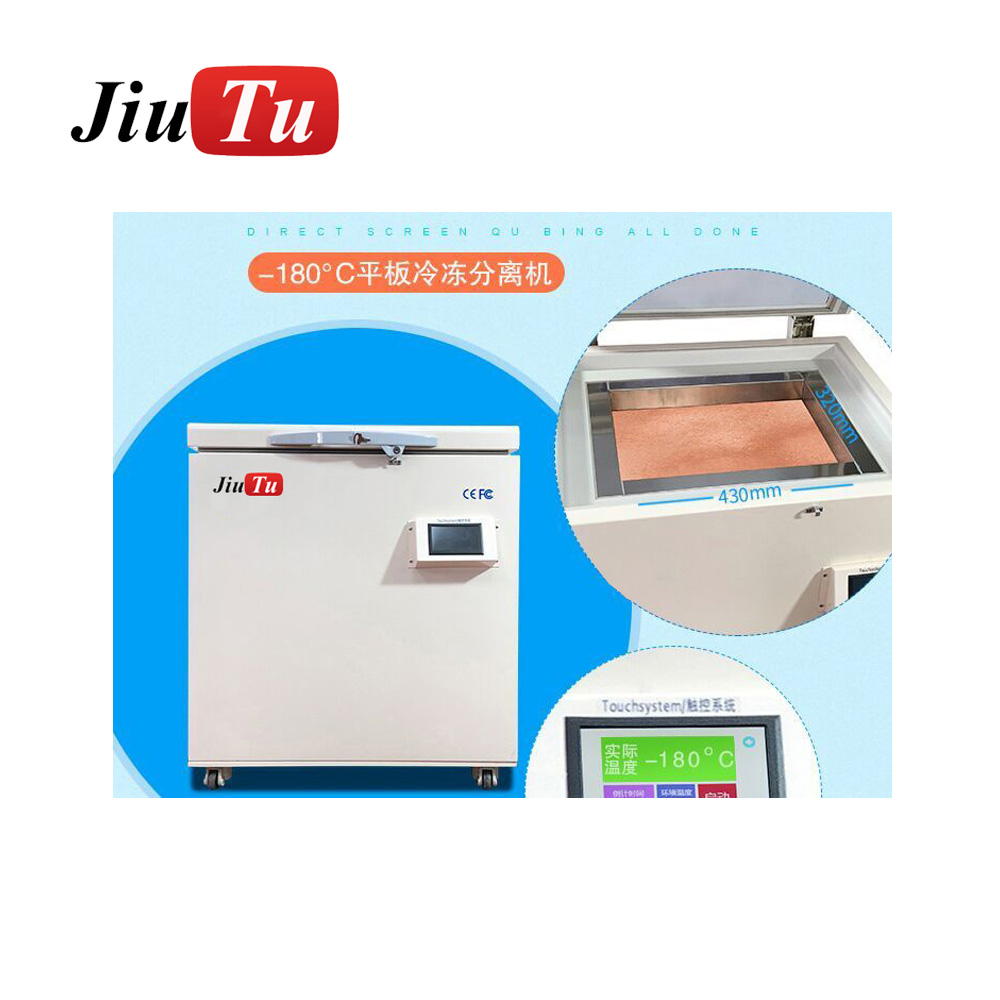 -180 Degree Tablets Computer Automatic Vacuum LCD Freezer Separator Machine Big Size Touch Screen Glass Separator Machine Featured Image