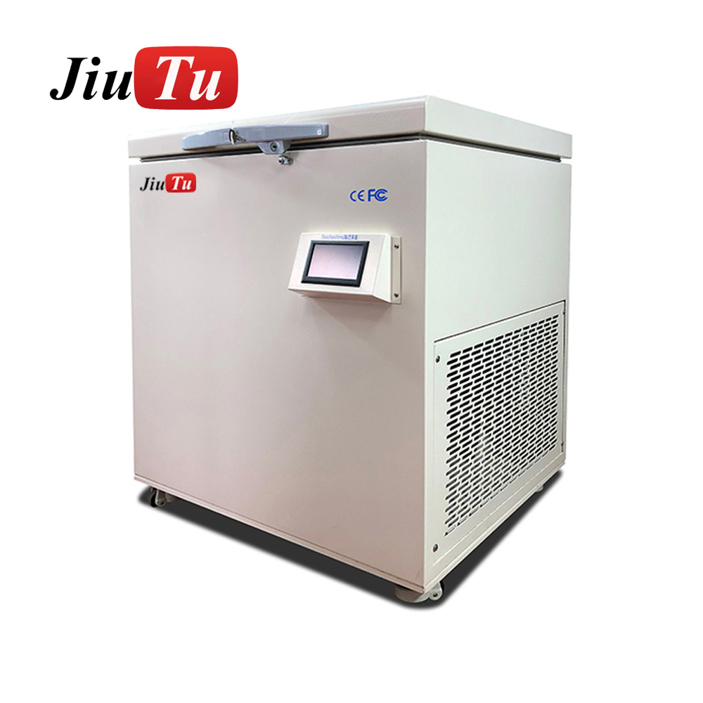 -180′C Frozen Separator Professional Freezing Machine For Computer DVD iPad iMac Big Size LCD Touch Screen Separating Machine Featured Image