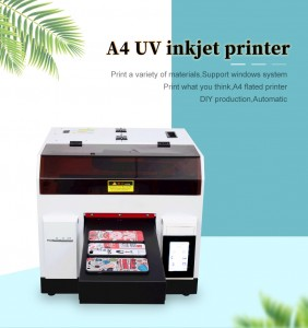 Mobile Phone Case Protective Printing Machine For iPhone For Samsung Phone Cover DIY A4 UV Printer