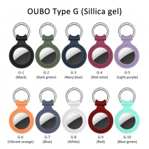 Amazon Hot Sell Silicone Protective Cover Cute Pet Collar Keychain Tracker For Airtag Case For Dog