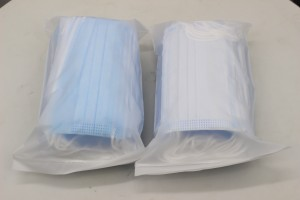 CE Disposable Face Mask Three Layers Surgical Medical Face Mask Supplies