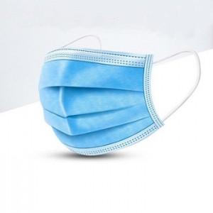 FDA face mask disposable 17.5×9.5 cm 3ply mask respirato