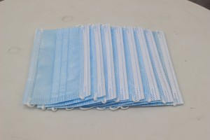 Factory Price Disposable Face Mask 3 plys Nonwoven Certificate Medical Mask Ready To Ship