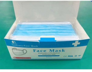 Wholesale Price 3ply Earloop Surgical Disposable Face Mask Medical Protection Type