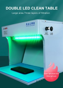 Dust Free Cleaning Working Room Purify Operating Workbench for Mobile Phone LCD Screen Refurbish