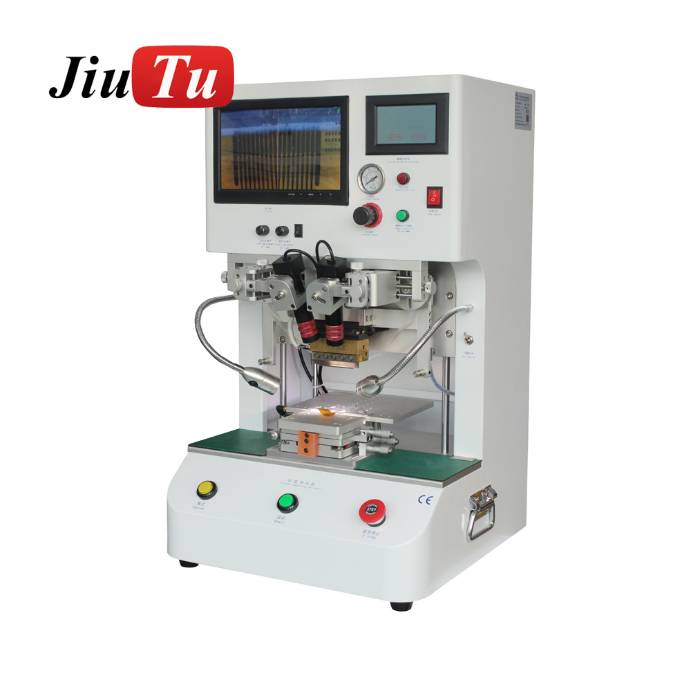 Flex Cable Machine LCD Screen Repair Machine Pulse Hot Press LCD Flex Cable Ribbon FPC ACF Bonding Machine with 12.1inch Display Featured Image