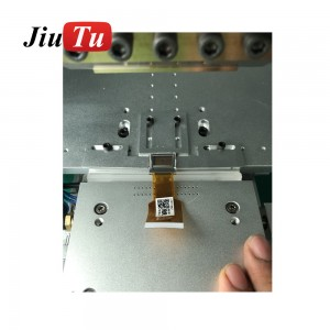 Flex Cable Machine LCD Screen Repair Machine Pulse Hot Press LCD Flex Cable Ribbon FPC ACF Bonding Machine with 12.1inch Display