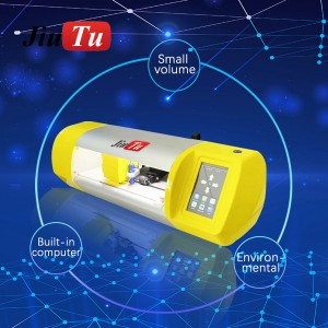Jiutu TPU Film Cutting Machine Mobile Phone Built In Computer Screen Protector Hydrogel Film Cutter Machines
