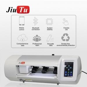Jiutu Auto Film Screen Protector Film Cutting Machine Mobile Phone Tablet Front Glass Back Cover Film Cut Tool Protective Tape