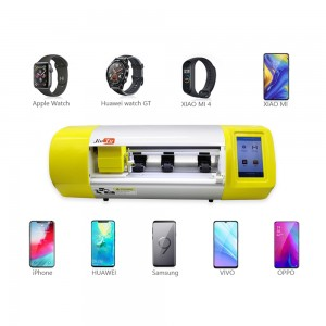 Front Back Film Phone Cutter Mobile Glass Screen Cut Machine Hydrogel Hammer-Proof TPU Protector Smart Cutting Plotter