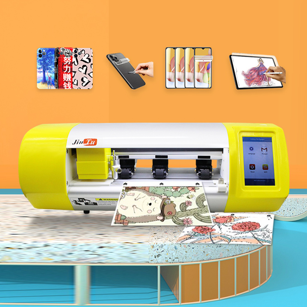 Film Cutting Machine For Mobile Phone Tablet Front Glass Back Cover Protect Film Cut Tool Protective Tape Featured Image