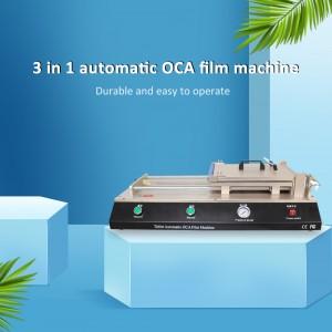 OCA LCD Screen Repair Automatic OCA Polarizer Film Applicator Machine For Phone Refurbish Laminating OCA Glue Polarizer Adhesive