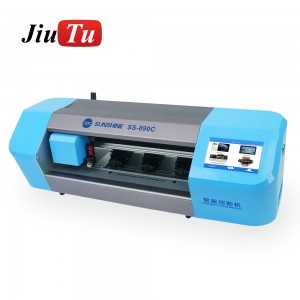 Auto Film Cutting Machine Mobile Phone Tablet Front Glass Back Cover Protect Film Cut Tool Protective Tape