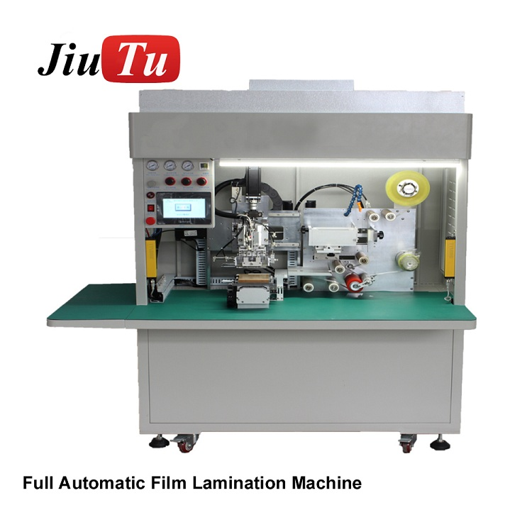 Jiutu Newest Fully Automatic Film Lamination Machine For iPhone Samsung OCA Polarizer Film Apply On LCD Screen Fast Speed Featured Image