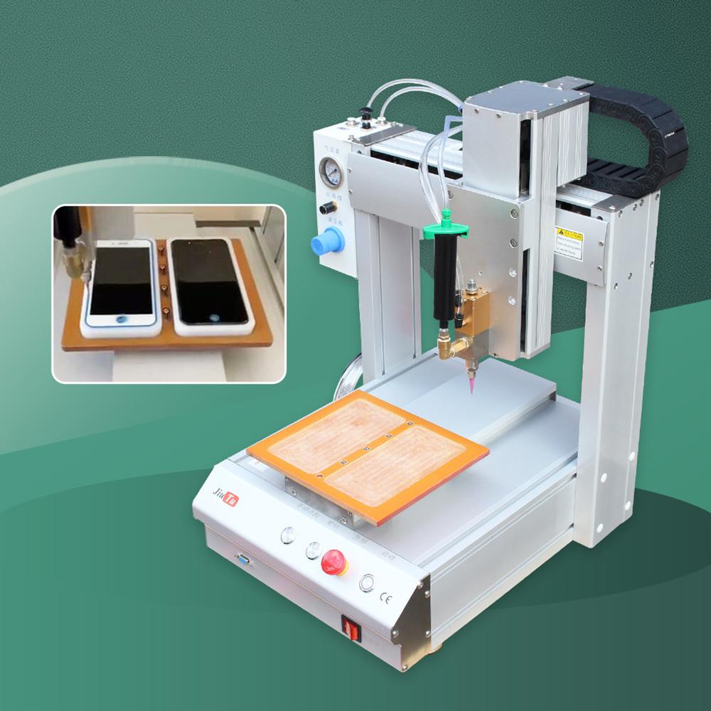 Automatic Glue Dispenser Robot Machine 3 Axis Aluminum Alloy Profile Desktop Dispensing Machine For Phone PCB Board Dispenser Featured Image
