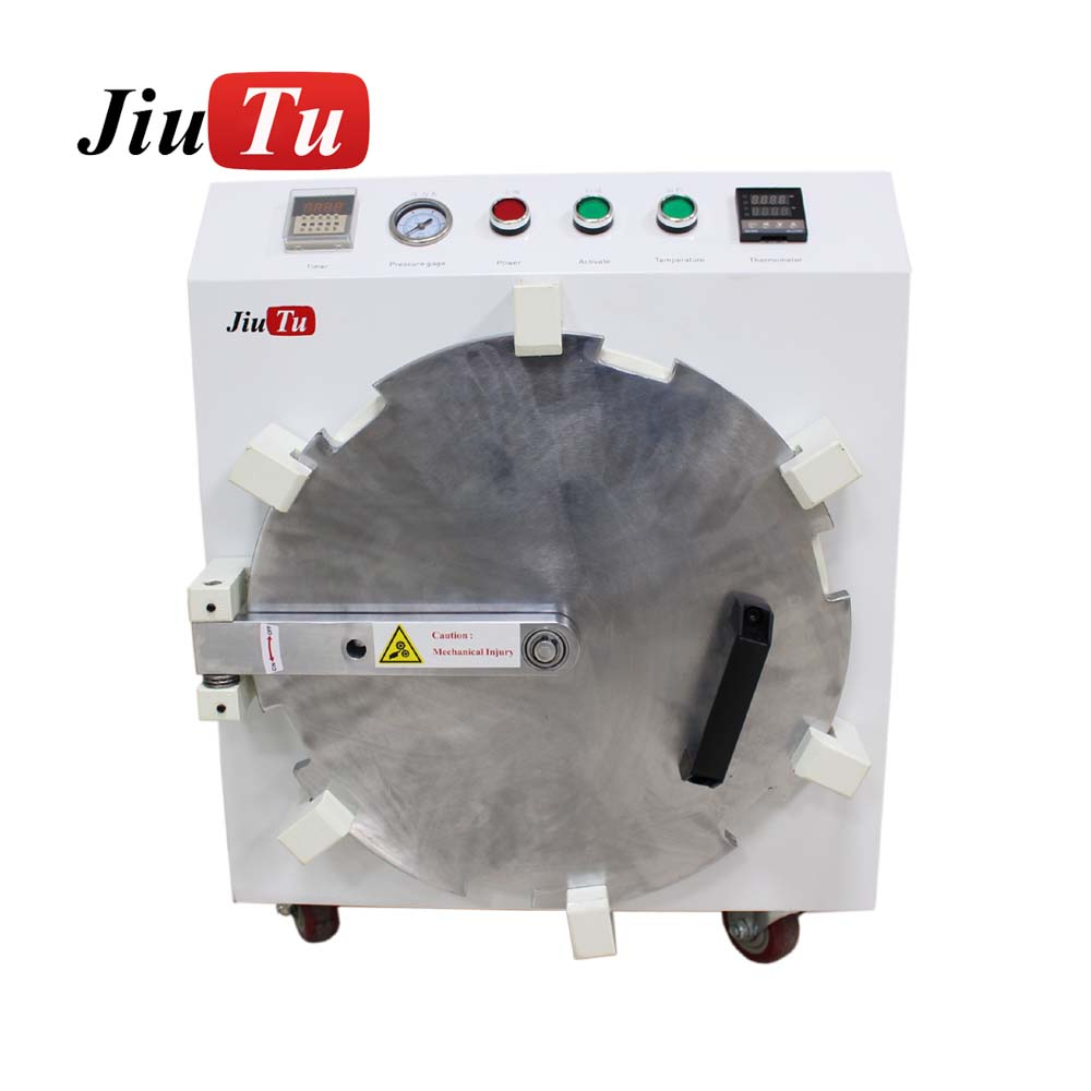 2018 New Design Mobile Lcd 20 Inch Air Bubble Remove Machine