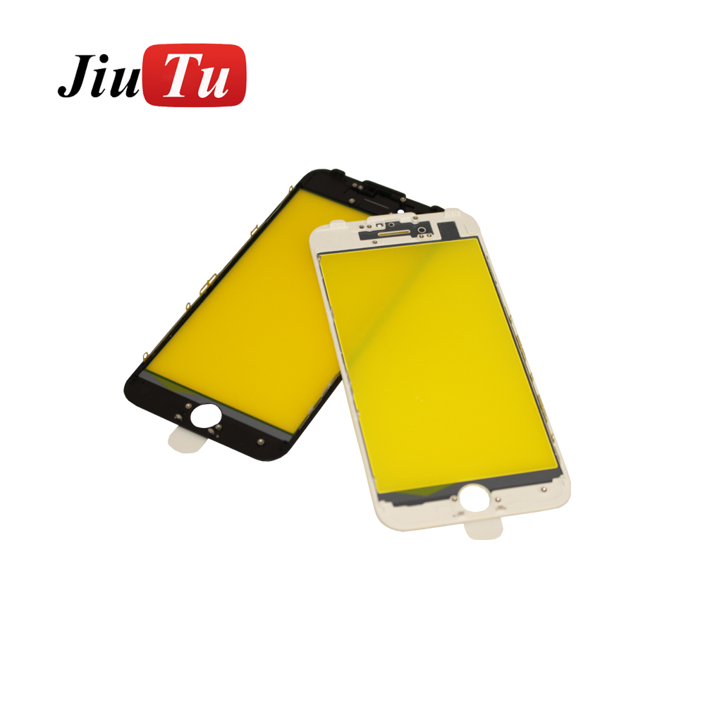 Excellent quality Lcd Goose Vacuum Laminating Machine - For iPhone 7 Plus 5.5 inch Black White Orginal Panel Glass + Bezel Frame Cold Press Pre-Assembly LCD Repair OCA Machines – Jiutu
