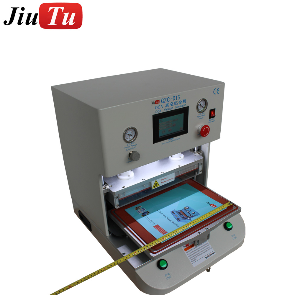 12inch Vacuum OCA Lamination Machine for iPhone Samsung Edge OLED LCD Screen Refurbish Machine