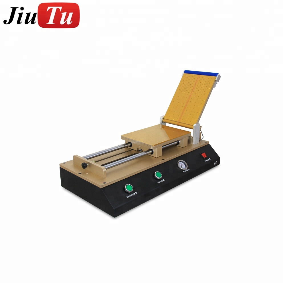 Large Quantity Automatic Lcd Repair Work Oca Film Vacuum Laminator Machine With Air Compressor For Phone