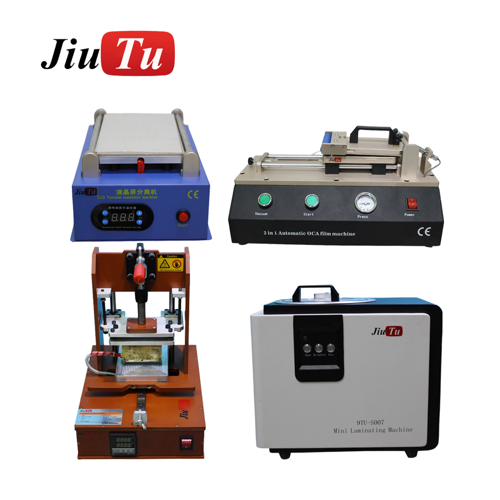 Mobile Phone Repair Machine Full Set 5 in 1 LCD Separator/Mini OCA Laminating De-bubble Machine/3 in 1 Automatic OCA laminator