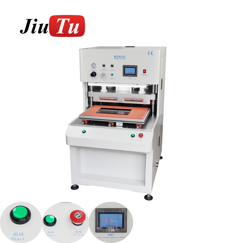 Customized 25 inch 29 inch 32 inch Large Laminator Machine For Advertise LCD LED OLED Screen Vacuum Lamination DVD Player Repair