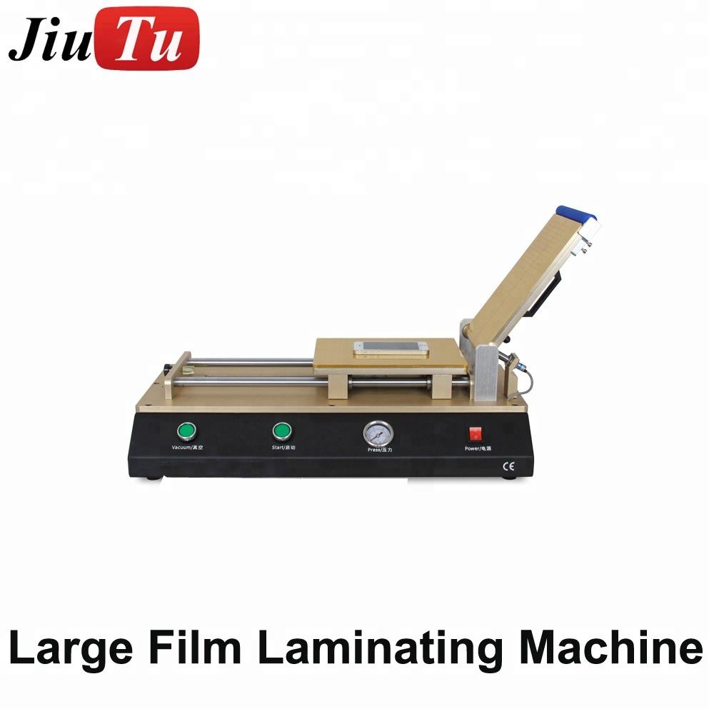 Large Quantity Automatic Lcd Repair Work Oca Film Vacuum Laminator Machine With Air Compressor For Phone