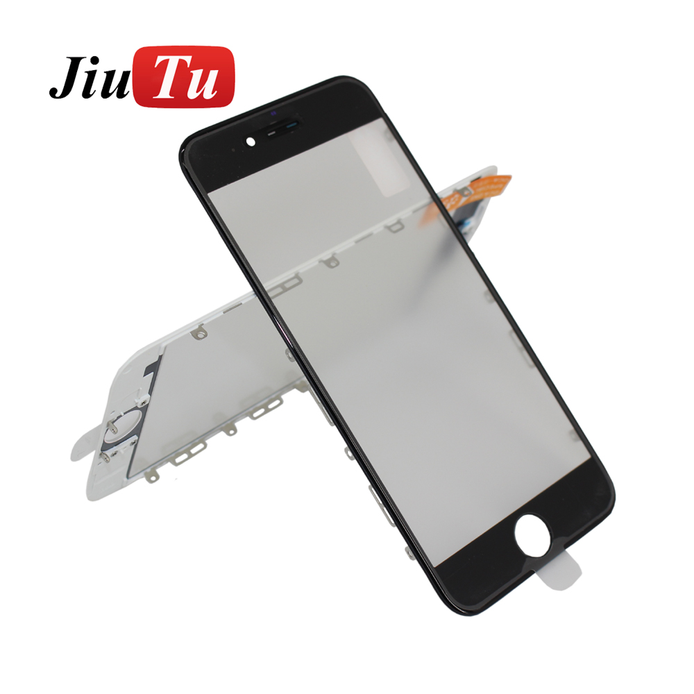 Factory selling Iphone 6g Parts - Front Screen Outer Glass Lens with Bezel Frame with OCA Optically Clear Adhesive for iPhone 6s – Jiutu