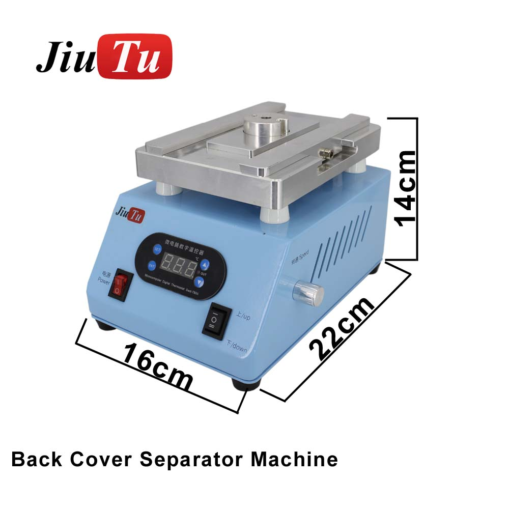 Jiutu Back Cover Separator Machine Broken Back Screen Glass Remover For iPhone OLED X 8G 8P XS XR X Max No Need Mold
