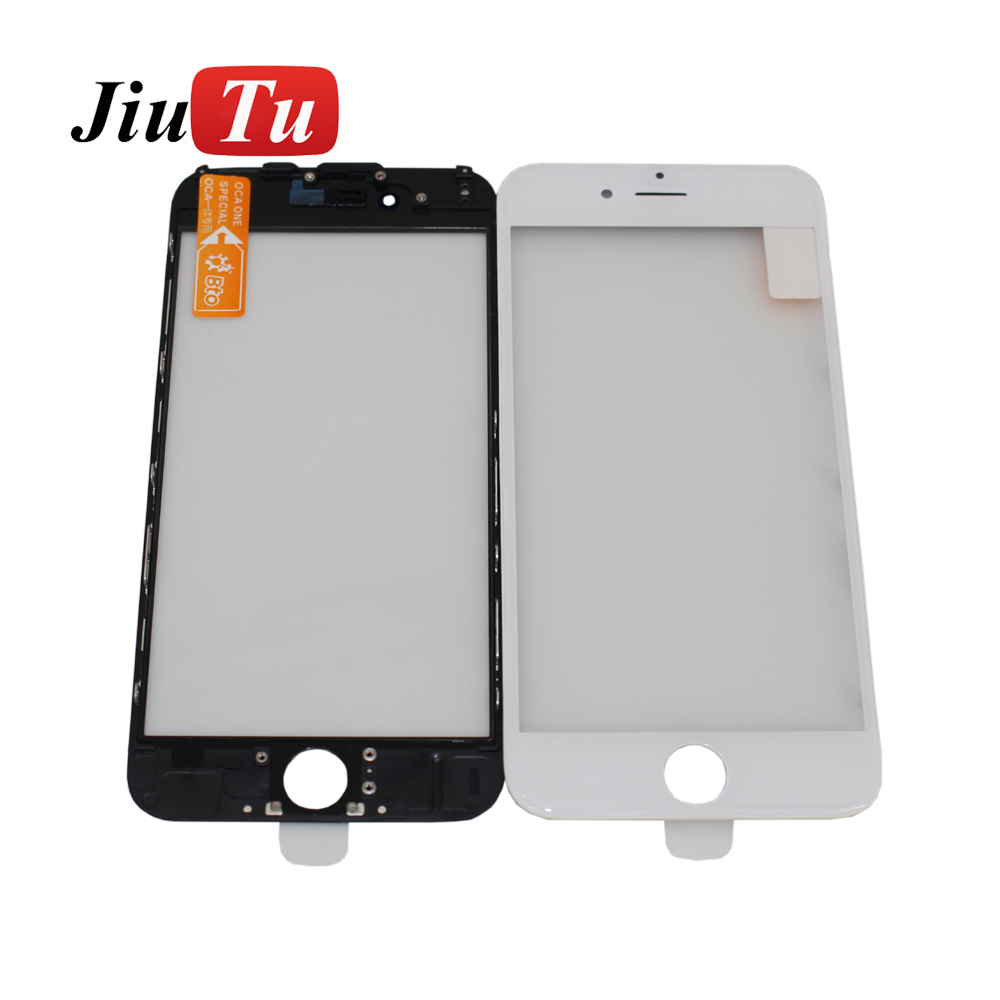 Fixed Competitive Price Glass Oca Frame For Iphone 6 - White Black 5.5  inch Front Outer Screen Glass Lens Frame Bezel +OCA Replacement for iPhone 7 Plus – Jiutu