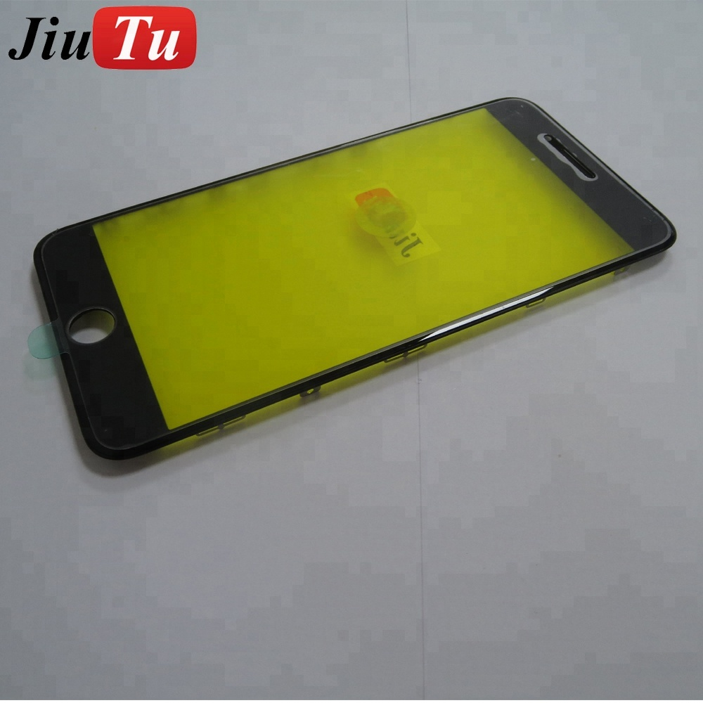 LCD Screen Glass with Frame For iPhone 6 4.7inch Broken Lens Replace Parts