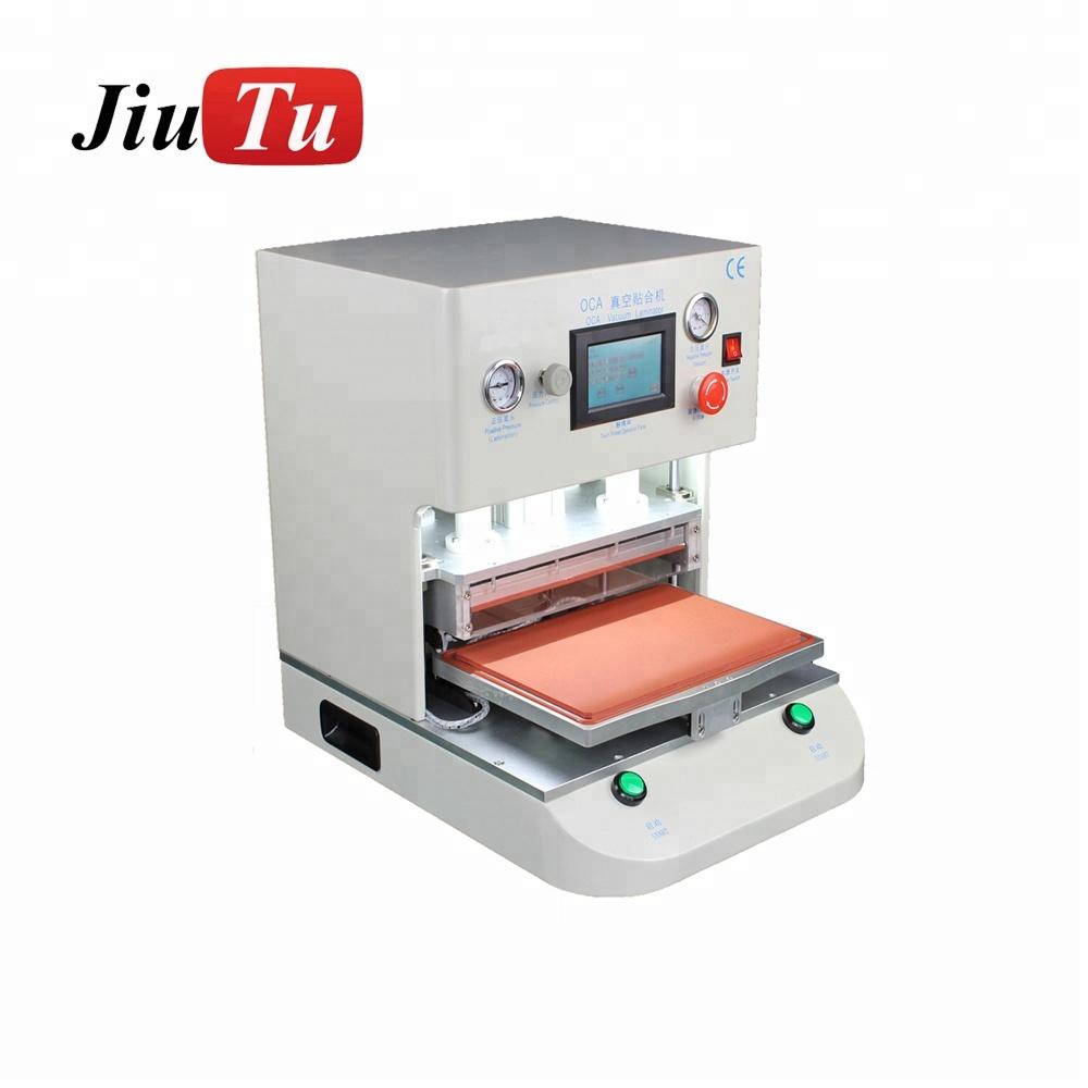 High Speed 12 inch Jiutu Newest for iPad 6/iPhone 6S 7P OCA Automatic LCD Touch Screen Vacuum Laminating Repair Machine