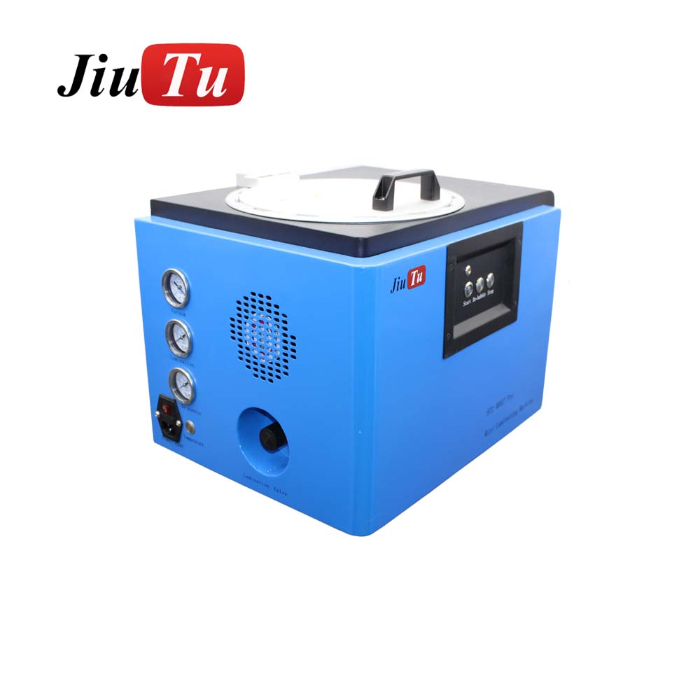Jiutu New Mini All-in-One LCD Vacuum OCA Lamination Machine and Bubble Remover Machine for 7inch LCD Screen Refurbishment