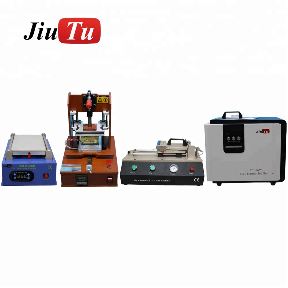 Wholesales 4pcs/set LCD Separator With Pump+Glue Remover+All in One OCA Laminator+3 in 1 film Laminating for Phone LCD Refurbish