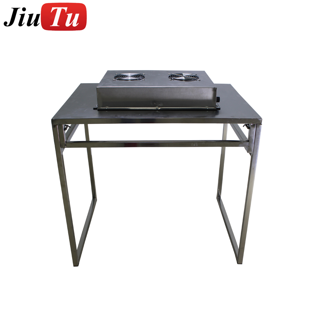 Folding Free Installation Dust Free Room Workshop Laminar Flow Hood Bench Air Flow Clean Workstation