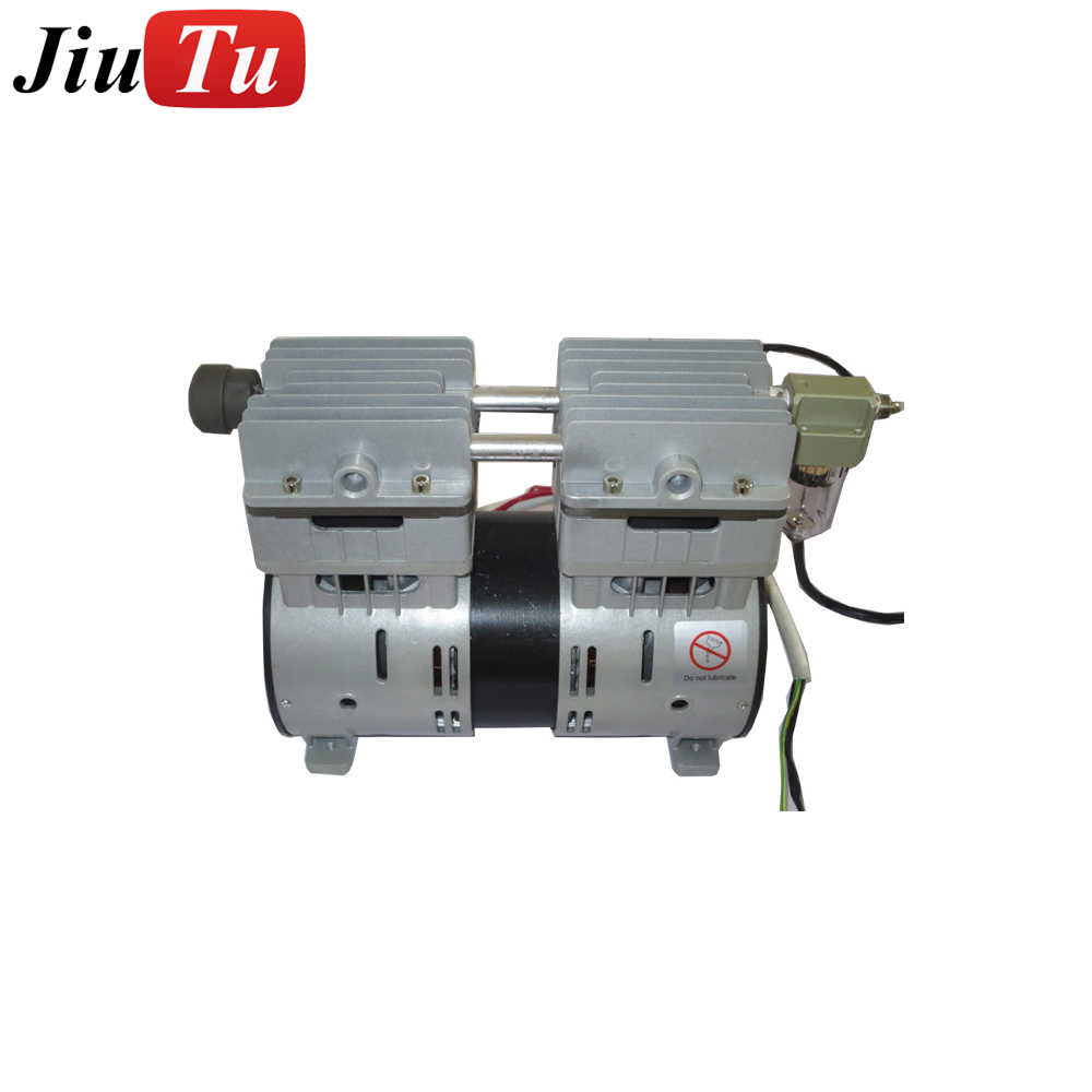 Cheap Oil-free Vacuum Pump For Cell Phone Lcd Glass Laminator Machine Oil Free Compressor Lcd Repairing Machine