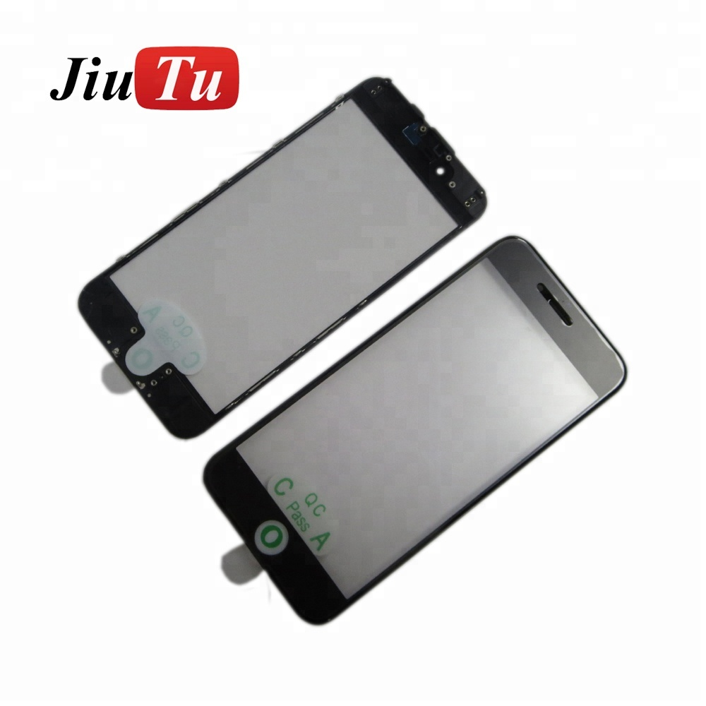 3 in 1 Pre-Assembled Front Glass with Frame with OCA Film For iPhone 6 6S 6 Plus 6S Plus For iPhone 7 7 Plus LCD Screen Repair