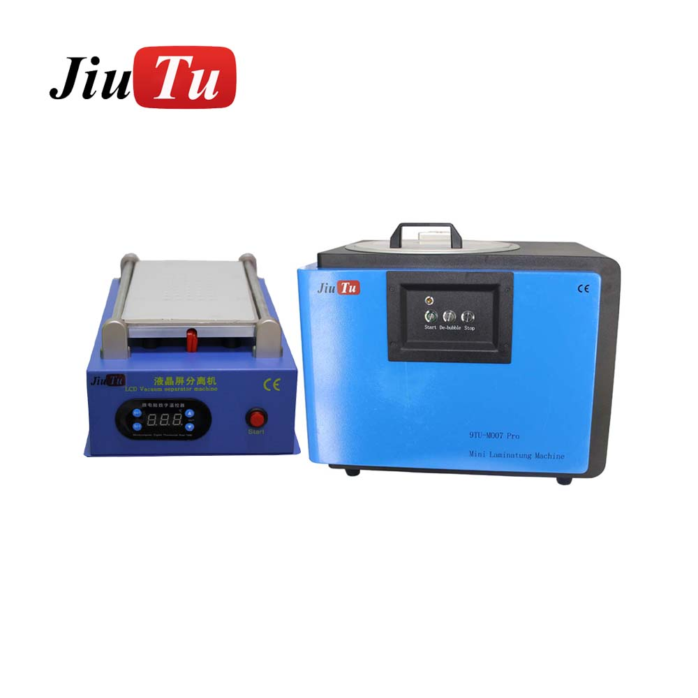 Cracked Lcd Repair Machine 2In1 Oca Vacuum Laminating And Bubble Together , Lcd Separate Machine Easy For Smart Repair Shop Use