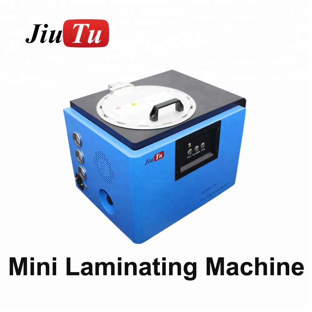 Jiutu OLED EDGE screen 6 in 1 Vacuum OCA Lamination & Air Bubble Removing LCD repair machine for Iphone all and for Samsamg