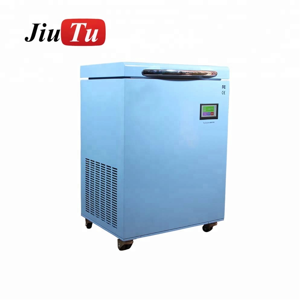 185 degree Curved Screen Frozen LCD Separator Machine LCD Glass Freeze Separator Machine
