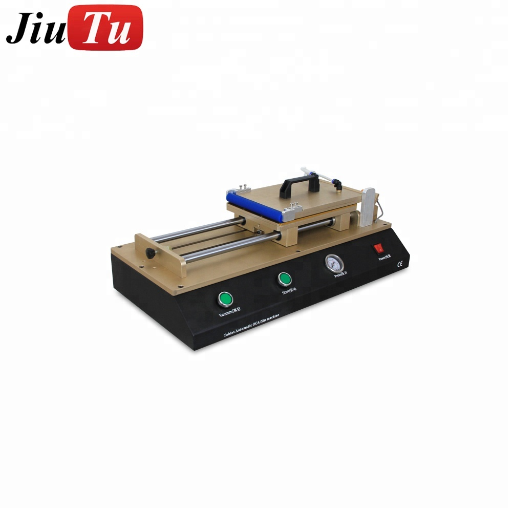 Full Set Automatic Air Mini Tablets LCD Repair Refurbishment Film Laminating Machine Film OCA Laminator for iPad
