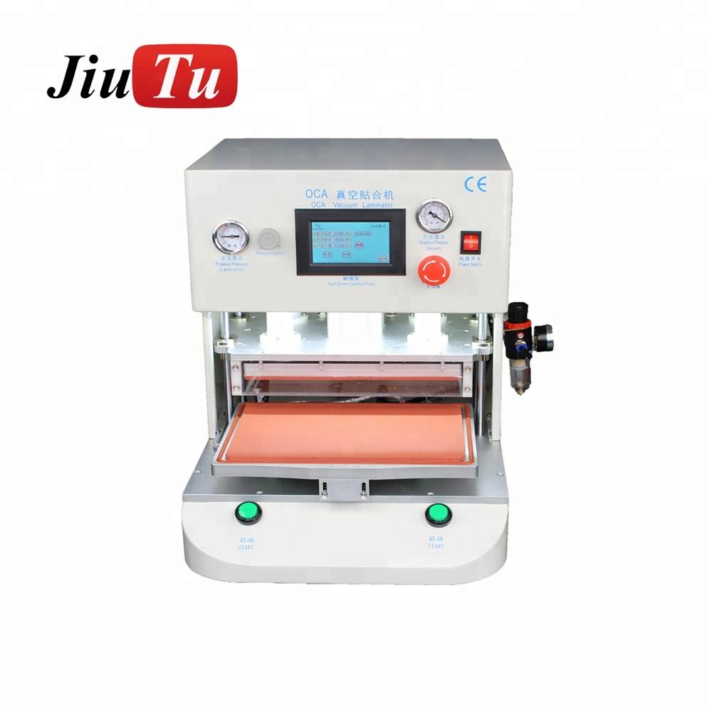 JIUTU New 12inch LCD OCA Vacuum Laminating Machine NO bubble Automatic oca Laminator Machine For Iphone LCD Refurbish Repair