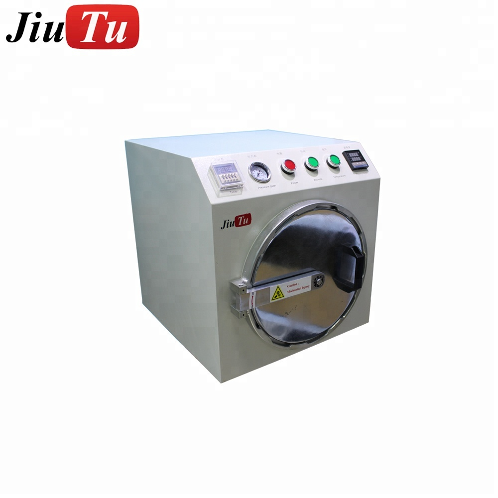 High Efficiency Under 12 inch OCA De-bubble Removing Machine for iPhone/Samsung EdgeLCD Touch Glass Refurbish