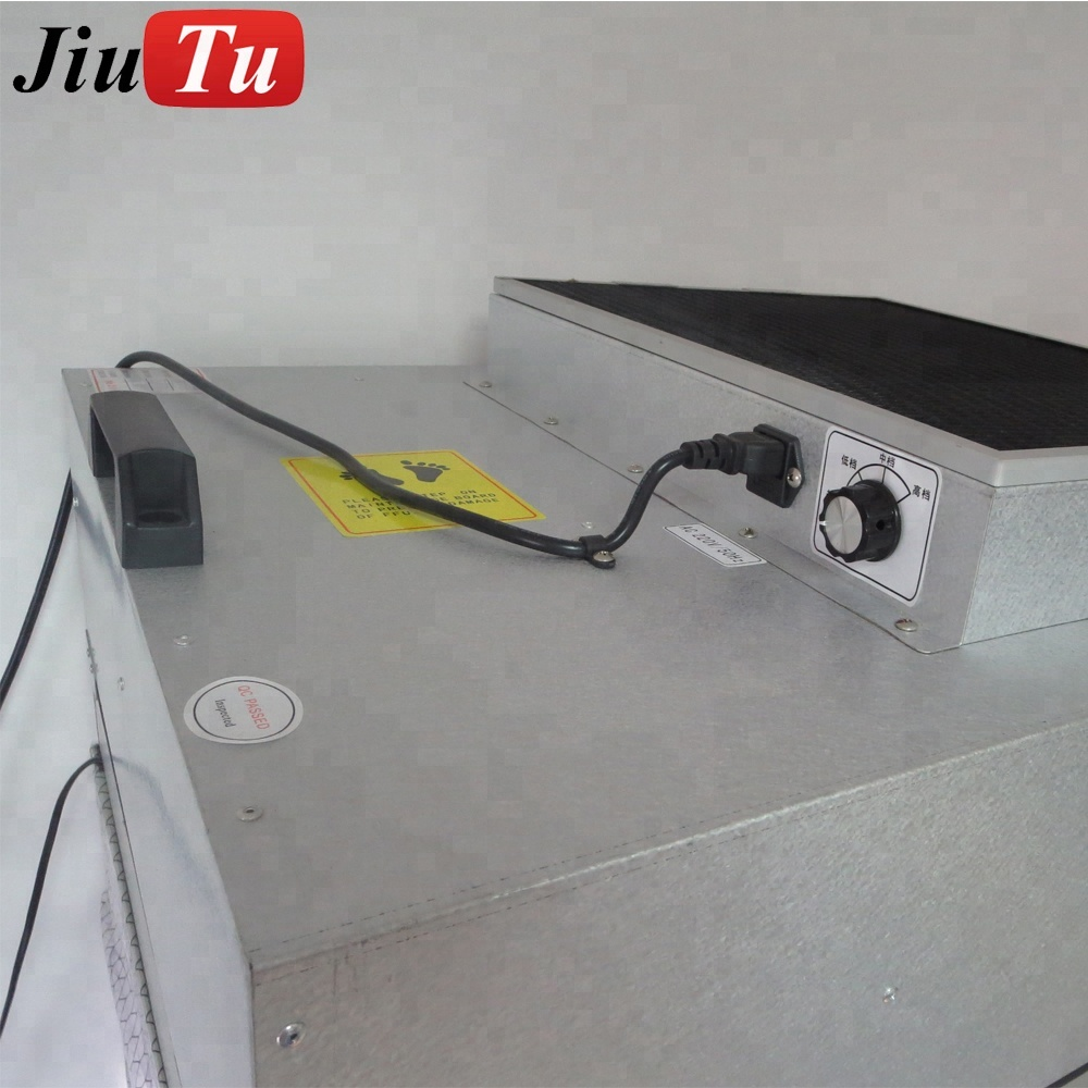 Jiutu Newest Middle Size Dust Free Clean Room For Mobile Phone/iPad Cracked LCD Repair Anti-dust Working Table with Filter Fan