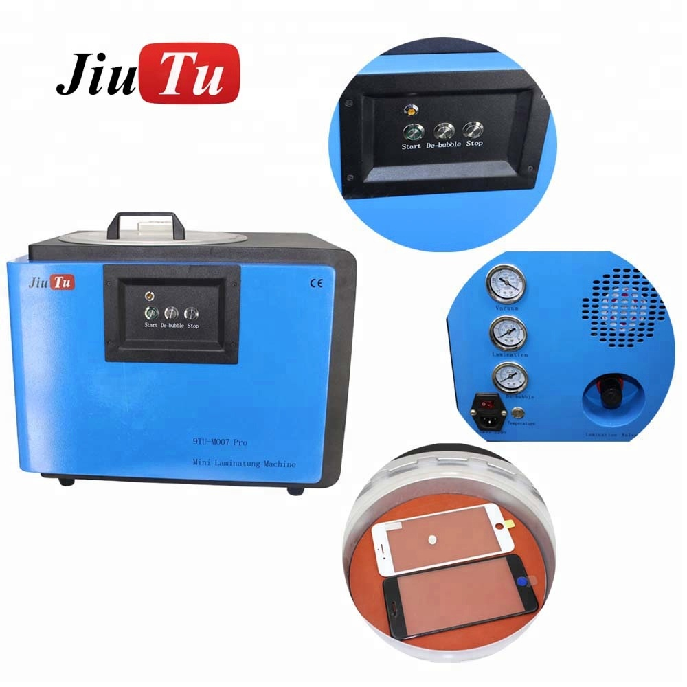 Jiutu 110V/220V Vacuum OCA Laminator Machine Mini Vacuum OCA Lamination Bubble Remover For LCD Glass Laminating For Smartphone