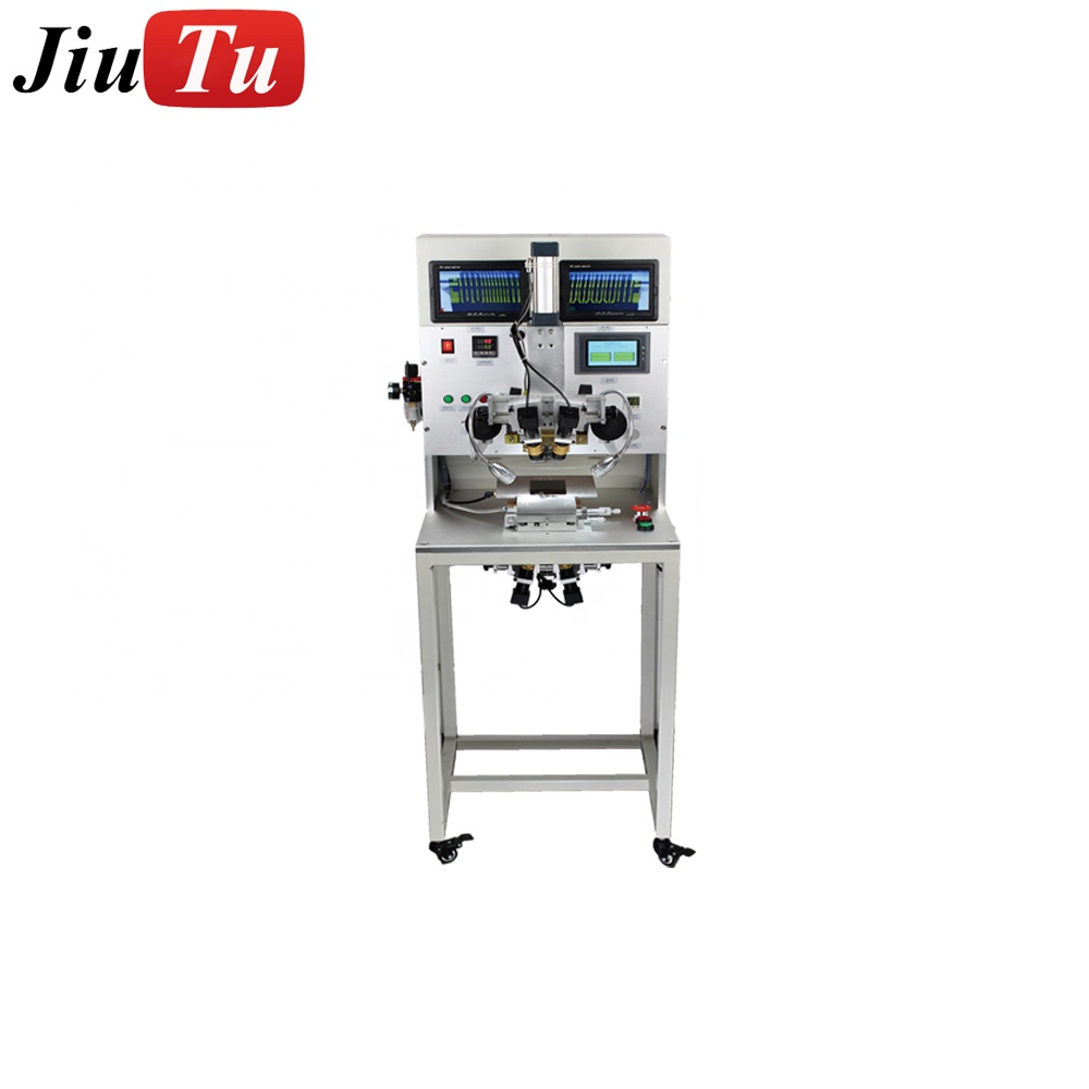 Universal LCD flex cable bonding machine with LCD Display