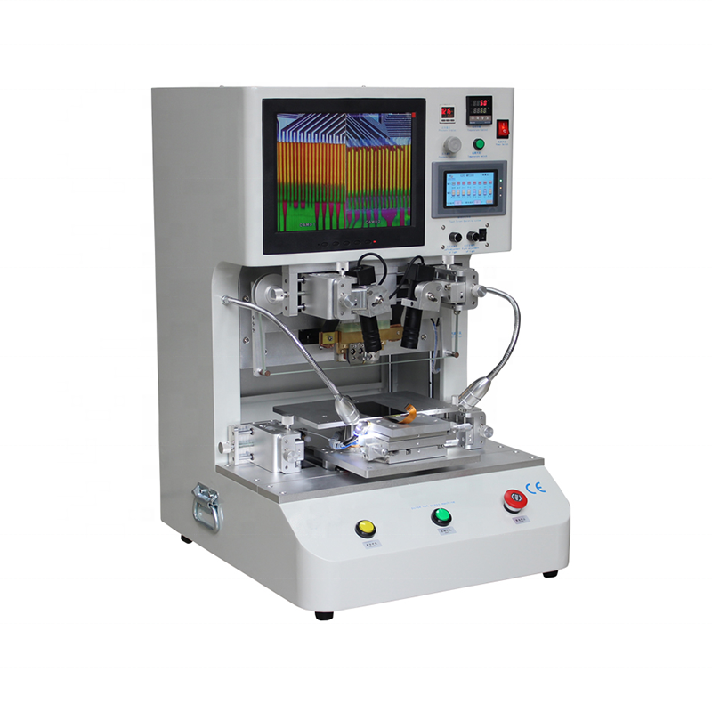 Jiutu 12.1Inch Ac 220V 50Hz Lcd Touch Screen Pulse Flex Cable  Vacuum Heat Press Repair Bonding Machine