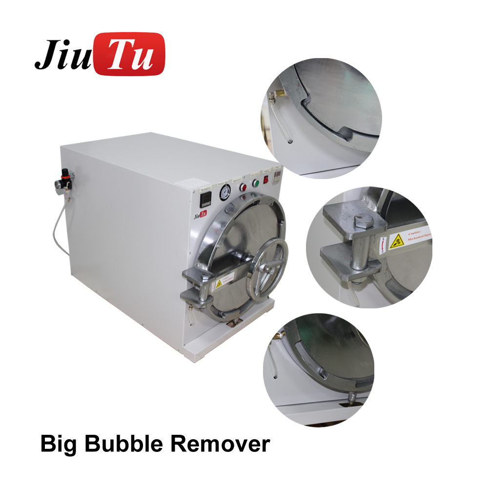 The Latest 29 inch Big Bubble Removing Machine for iPhone, iPad and TV screen removing the bubble