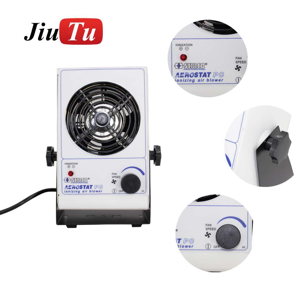 Ionizer air fan desktop eliminating Ionizing Air Blower anti-static air fan for iphone 8 8Plus broken Lcd refurbishment