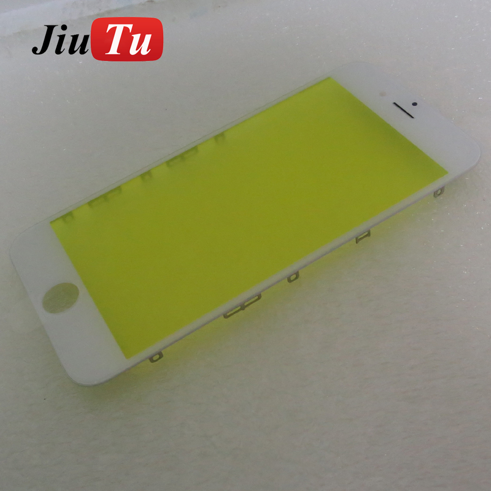 White/Black Glass Lens with COLD PRESS Bezel Frame PRE-INSTALLED Parts Replacement For iPhone 6S